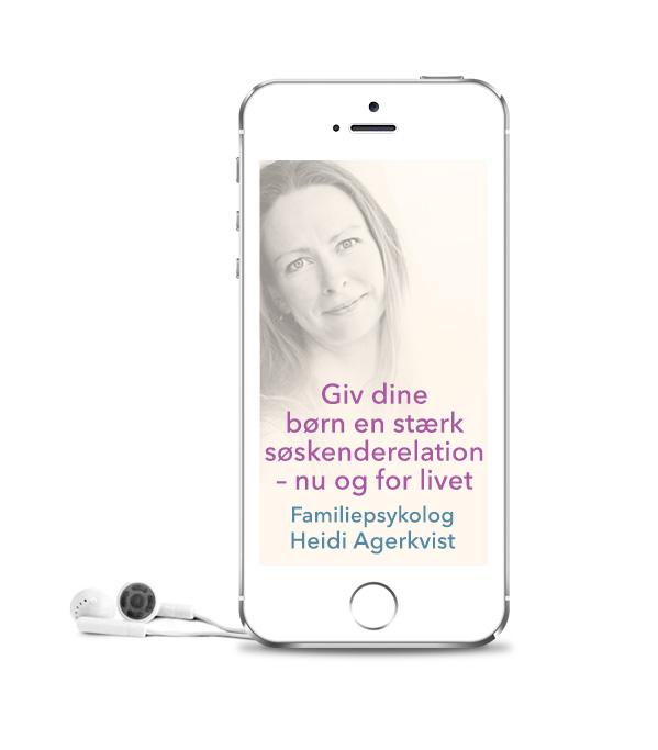 Gratis psykologhjælp til søskende - Psykolog Heidi Agerkvist