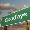 sorg farvel