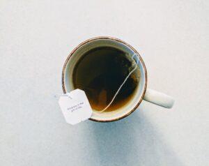 At hænge ud med en kop te er kærlighed uden ord
