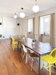 Lyst og hyggeligt kursuslokale til leje i Aarhus